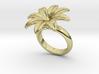 Flowerfantasy Ring 23 - Italian Size 23 3d printed