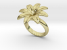 Flowerfantasy Ring 27 - Italian Size 27 3d printed