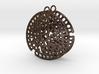 Radiolarian earrings 3d printed