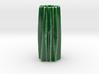 Organic flower vase 3d printed