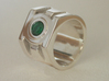 Green Lantern ring size 7 3d printed *Stone added post production*