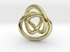 Infinity Pendant 3d printed