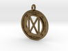Happiness and success Tartan Rune Pendant 3d printed
