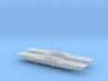 FS Clemenceau (R98) (1987) x 2, 1/6000 3d printed