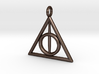 The Deathly Hallows Keychain/Pendant 3d printed