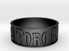 Mt. View Toro Band Ring (size 6) 3d printed
