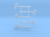 """HO Scale 3Pos. TO Semaphore Pointed 60"""" 3d printed"""