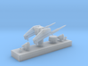 1/350 MK10 GMS Guided Missile Launching System 3d printed