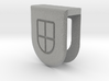 Webcam Cover // 5mm // ULTRA BOOK 3d printed 3D Webcam Cover rendering - Metallic Plastic