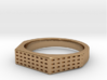 ANGIOINO Ring 3d printed ANGIOINO Ring in Brass