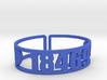 Tyler Hill Zip Cuff 3d printed