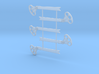 O Scale USS Style B Fishtail 3d printed