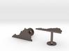Virginia State Cufflinks 3d printed