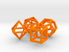 Regular polyhedra 3d printed