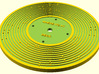 Custom Fisher Price record 3d printed Front: Where its at by Beck