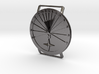 42.36N Sundial Wristwatch With Compass Rose 3d printed