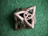 Celtic D8 3d printed Printed in Stainless Steel