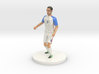US Soccer Player 3d printed