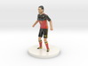 Belgian Football Player 3d printed