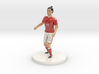 Welsh Football Player 3d printed
