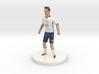 Colombian Football Player 3d printed