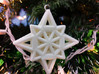 Wireframe Star Ornament 3d printed Photo courtesy of Shapeways, taken from the Ornament Custom Challenge