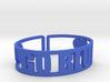 Go Blue Cuff 3d printed
