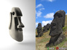 Mini Moai Head 3d printed