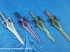Classics Powersword Snakeblade Curved 3d printed