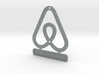 Airbnb HouseSymbol +Message 3d printed