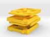 X-Wing Gaming Base (Small), 4 Bases 3d printed