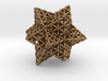 "Stellated Flower of Life Vector Equilibrium 2.3"" 3d printed"