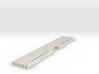 SET Flexible Bahnsteigkante mit Überquerungen (N) 3d printed