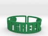 Go Green Cuff 3d printed