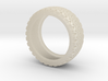 Tire Band ring 3d printed