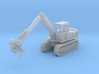 Hitachi Log Loader Tracked Z Scale 3d printed Hitachi Log loader Z scale