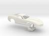 1/25 2014 Pro Mod Vette Small Wheel Wells No Scoop 3d printed