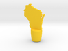 Wisconsin Wine Stopper 3d printed