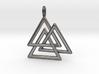 Vikings Valknut Pendant 3d printed