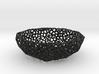 Bowl (19 cm) - Voronoi-Style #3 3d printed