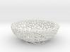 Fruit bowl (22 cm) - Voronoi-Style #2 3d printed