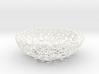 Little Bowl (15 cm) - Voronoi-Style #1  3d printed