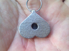 Breasts-shaped hollow keychain/pendant/aromapendan 3d printed