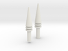 3d 2707 Front+Rear Cones 3d printed