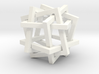 Orderly Tangle 01 - Six Hollow Squares 3d printed