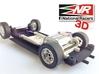 3D chassis - SRC Porsche 914/6 GT (SW/Inline) 3d printed Exhaust details