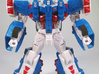 Ultra Magnus Arm Wheels (Shallow Version) 3d printed Robot mode. WSF + paint.