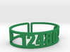 Timber Lake Zip Cuff 3d printed
