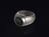 Black Lantern Ring 3d printed 3D render of the ring. Does not come with enamel paint applied.