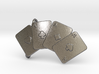 Aces Belt Buckle 3d printed